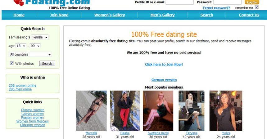 Korte termijn dating website
