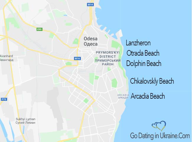 beaches in odessa Ukraine