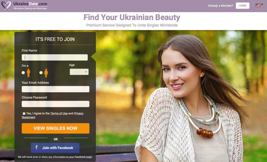 Sign up Now and start meeting Ukrainian singles near you